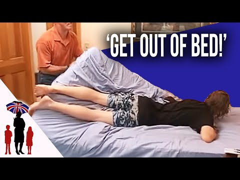 Dad Physically Drags Teenage Boy Out Of Bed   Worlds Strictest Parents USA