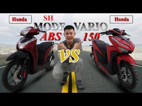 So sánh chi tiết Vario 150 và SH mode 125 ABS 2020 kẻ tám lạng người nửa cân.