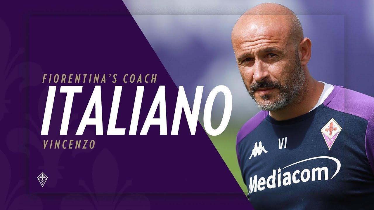 Italiano: le prime parole da allenatore della Fiorentina
