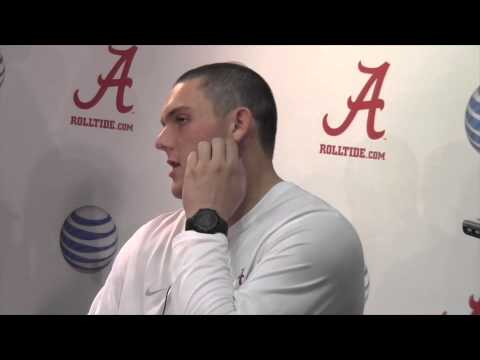 Alabama C Ryan Kelly discusses Tide