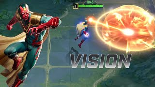 MARVEL Super War: New Hero VISION (Marksman) Gameplay