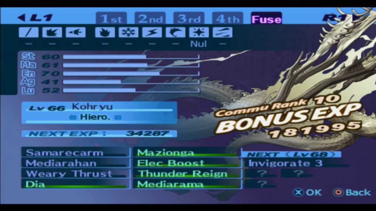 How to Fuse Messiah in Persona 3 advise