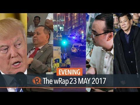 Manchester blast, Alan Peter Cayetano, Duterte in Russia | Evening wRap