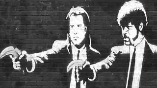 plan b suzanne banksy art montage