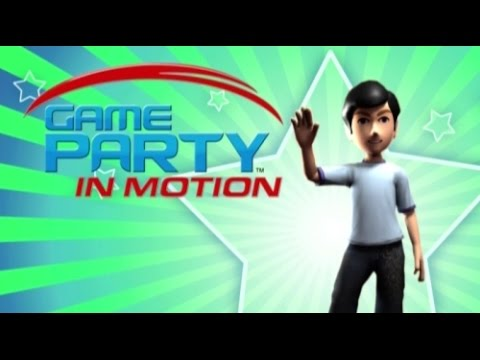 XBOX 360 Kinect Game Party In Motion Gameplay