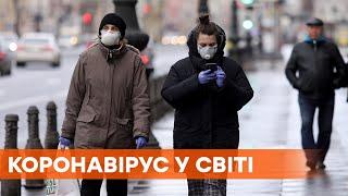 Украина в десятке стран Европы по уровню заражения коронавирус в мире 5 декабря
