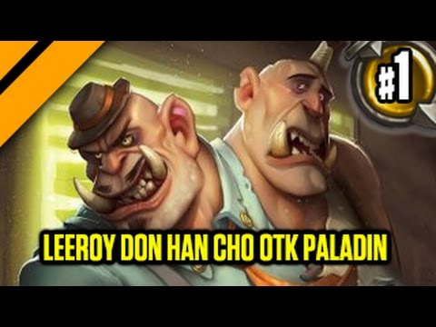 Day[9] HearthStone Decktacular #296 - Leeroy Don Han Cho OTK Paladin