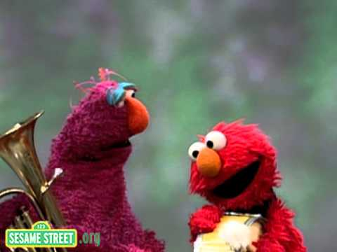 Sesame Street: Tuba And Drum- Elmo And Telly