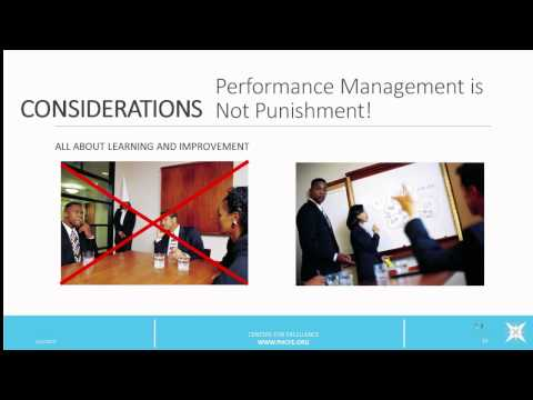 Developing An Effective Performance Management System