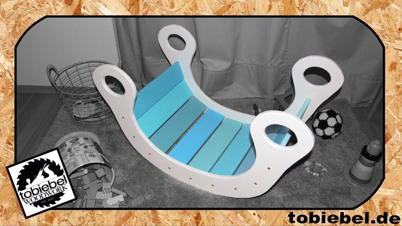 1 2 diy kinder regenbogenwippe aus holz kinderspielzeug. Black Bedroom Furniture Sets. Home Design Ideas