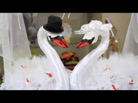 Лебедь на свадьбу своими руками мастер класс