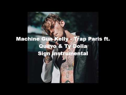 Machine Gun Kelly - Trap Paris ft. Quavo (flp+Instrumental) BEST VERSION*