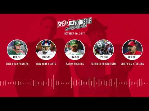 SPEAK FOR YOURSELF Audio Podcast (10.16.17) with Colin Cowherd, Jason Whitlock | SPEAK FOR YOURSELF
