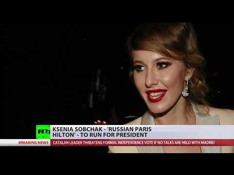 Who is Ksenia Sobchak? 'Russian Paris Hilton' announces presidential bid