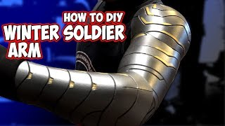How To Winter Soldier Arm Cosplay Costume