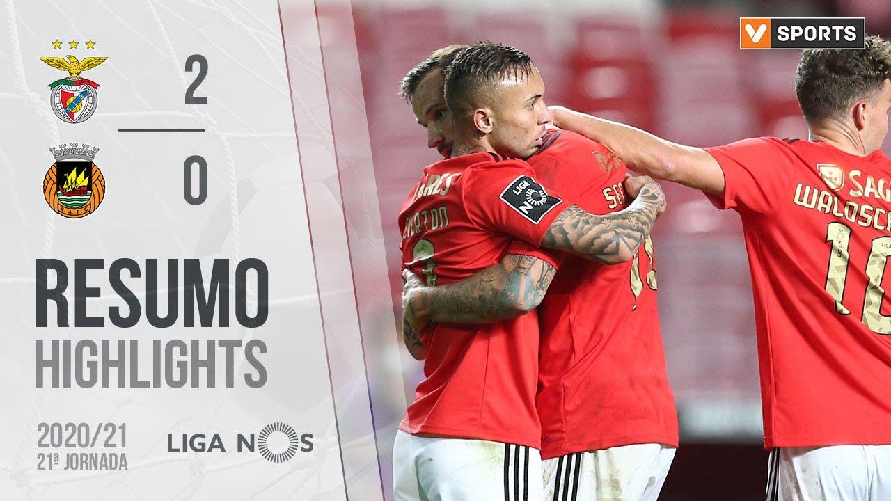 Highlights Resumo Benfica 2 0 Rio Ave Liga 20 21 21 Youtube