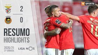 Highlights   Resumo: Benfica 2-0 Rio Ave (Liga 20/21 #21)
