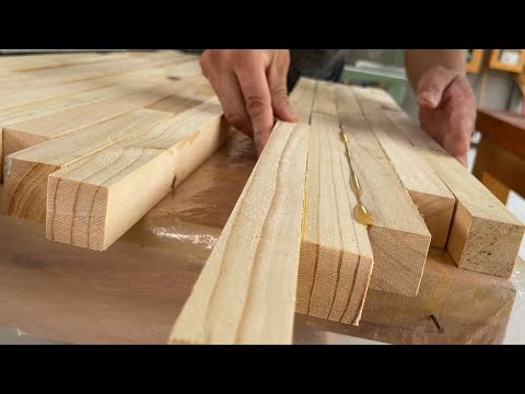 Download Wood Recycling // Good Idea From Waste Wood