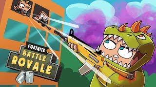 Minecraft Fortnite - TILTED TOWERS BLITZ! (Fortnite Blitz Challenge)