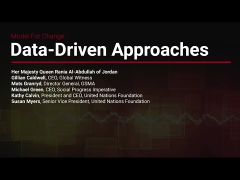 Model for Change: Data-Driven Approaches
