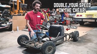 5 Essential Go Kart Mods for MORE POWER!