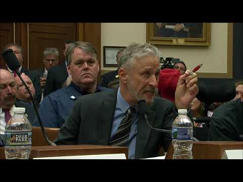 JON STEWART Goes OFF On Congress During 9/11 Hearing