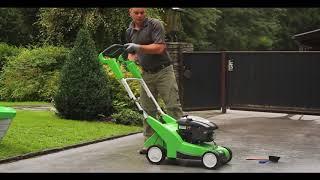 Jak vyčistit sekačku na trávu