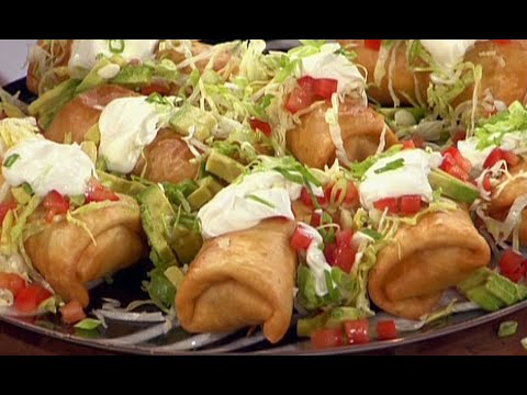 Guy Fieri's Chimichangas  Food Network