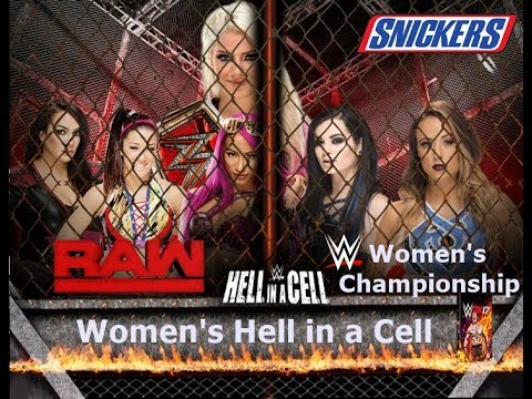WWE 2K17 - RAW Women's Championship Hell in a Cell (Prediction)