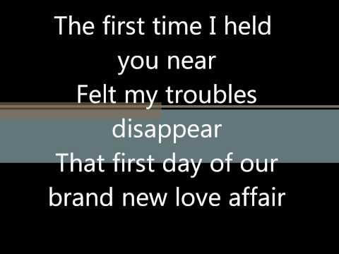 Jigsaw- A Brand New Love Affair with Lyrics