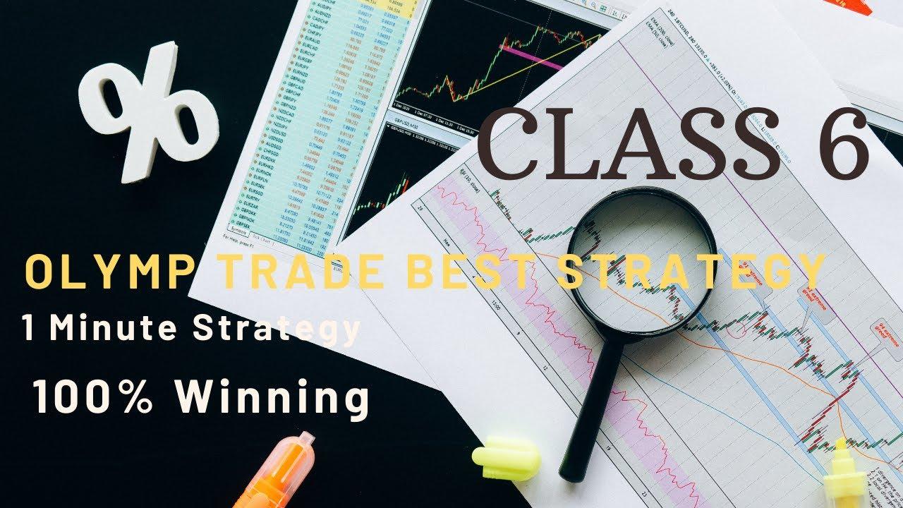 Olymp Trade Strategy | 1 minute winning trick | 100% Winning | Class- 6 | By Milan Jain
