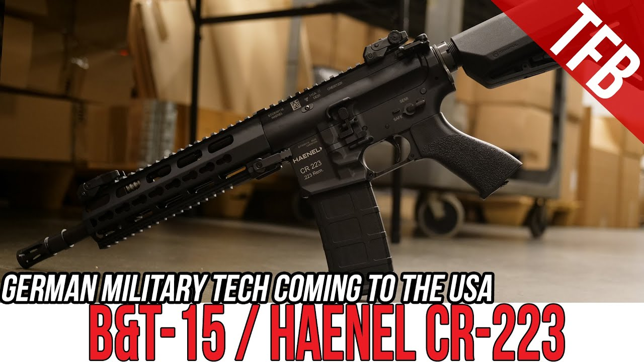 Download The Haenel CR223 is Coming to the US as the B&T-15! #GunFest2021