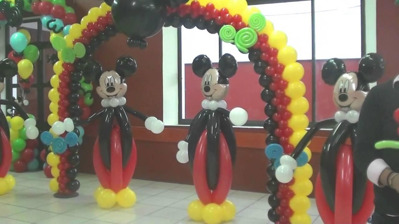Pasado curso decoracion con globos en puebla globos chasty for Decoracion con globos