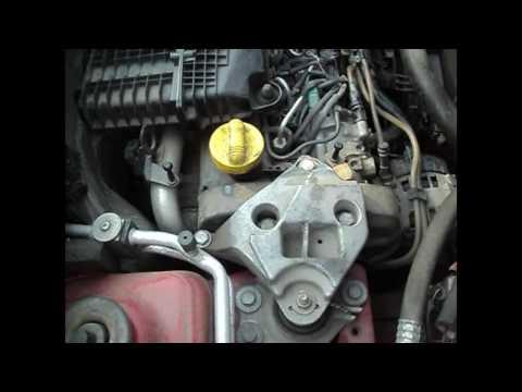 как посмотреть номер двигателя и VIN-код Renault Kangoo