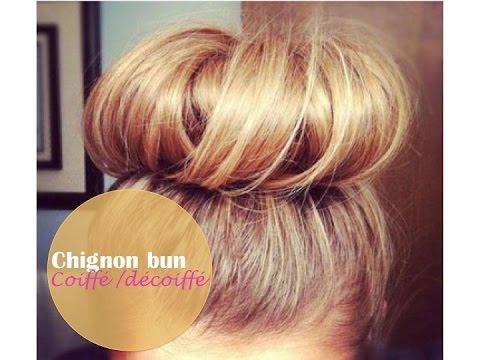 tutorial coiffure chignon bun coiff d coiff youtube. Black Bedroom Furniture Sets. Home Design Ideas