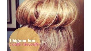 Tutorial coiffure : Chignon bun coiffé/décoiffé