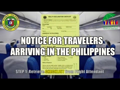 TRAVEL ADVISORY: MERS CoV Disease and EBOLA VIRUS