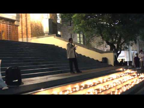 Nepalese Student Association Vigil for Earthquake Victim