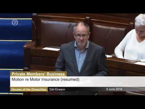 Mick Barry TD - End the car insurance rip-off!