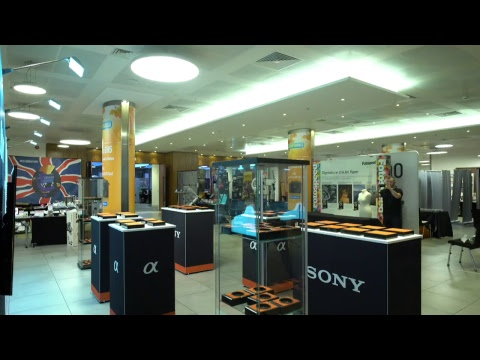 Camera World Live Sony Setup