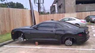 Rims and tire theft