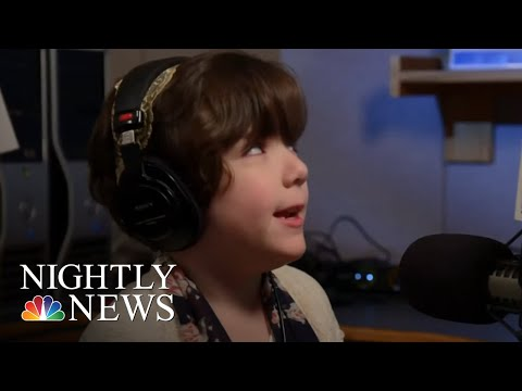 11-Year-Old Blind Girl Inspires With Radio Show | NBC Nightly News