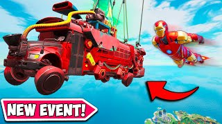*NEW EVENT* IRON MAN BUS IS HERE!! (FORTNITEMARES!) - Fortnite Funny Fails and WTF Moments! #1061