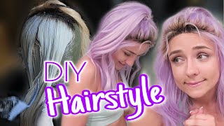 New Hairstyling I Perücke Bleachen & Umstylen