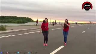 رقص مغربي في الشارع جميل جدآ ????الوصف