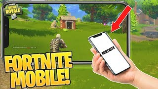 How to Get FORTNITE Mobile EARLY on your iPhone/Android! [Download Fortnite Battle Royale on Phone]