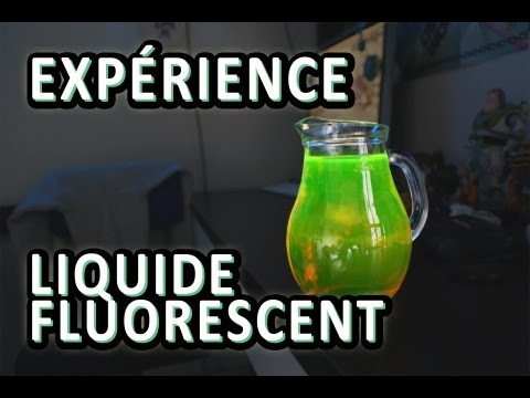 exprience liquide fluorescent dr nozman with subtitles youtube - Colorant Alimentaire Fluo