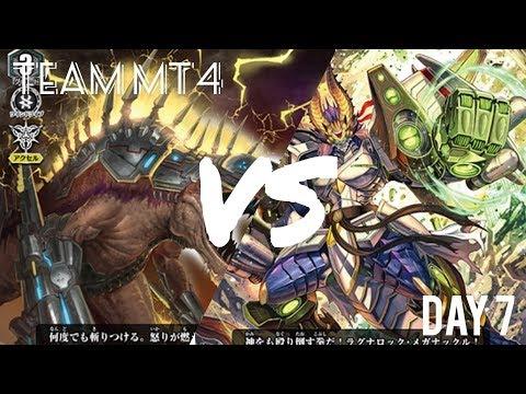【ヴァンガード】チームMT4 VG部活動機録 7日目 【対戦動画】