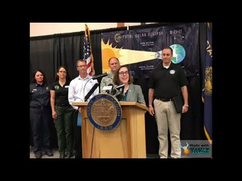 OReclipse: Governor Kate Brown 'Oregon is ready'