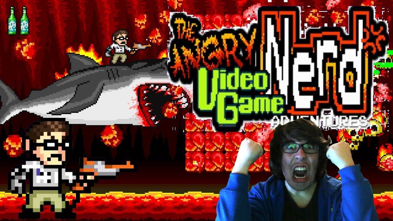 Je Surf Sur Un Requin Angry Video Game Nerd Adventures Fr 2